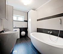 New bathrooms from scratch or renovations of existing bathrooms